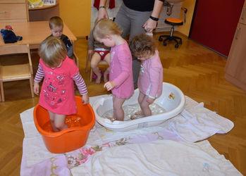 Kneip-Woche in der Kinderkrippe