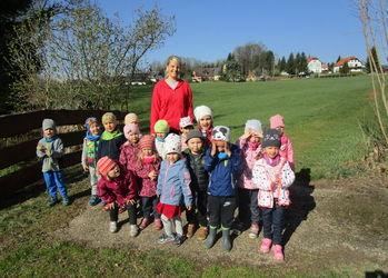 Stups der kleine Osterhase besucht uns in Thierfeld
